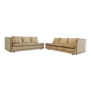 Elegant Harvey Probber Two-Part Sectional Sofa For Sale