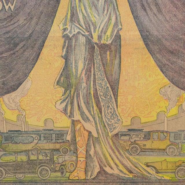 1e85f718294 Art Deco Illustrated Advertisement