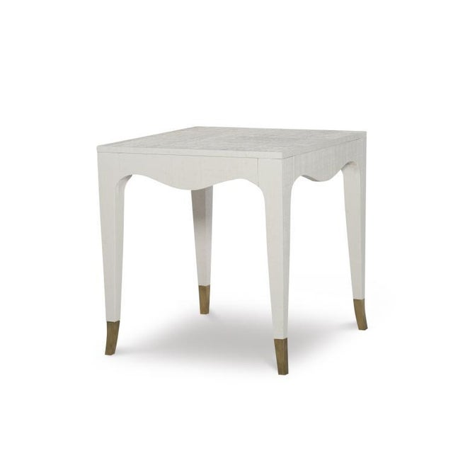 Gold Hollywood Regency Highland House Clayton End Table For Sale - Image 8 of 8