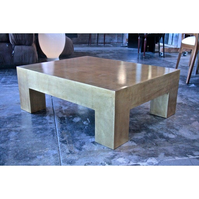 Italian Gold Leaf Coffee Table For Sale - Image 4 of 7