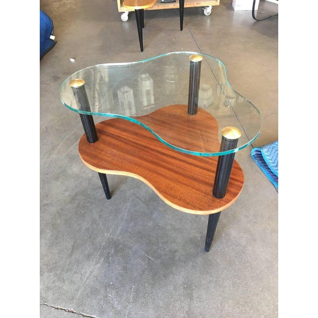 Mid-Century Modern Gilbert Rohde Two-Tier Mid-Century Cloud Coffee Table For Sale - Image 3 of 10