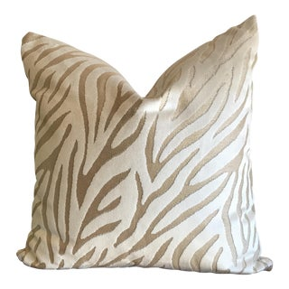 El Morocco Zebra Striped Pillow
