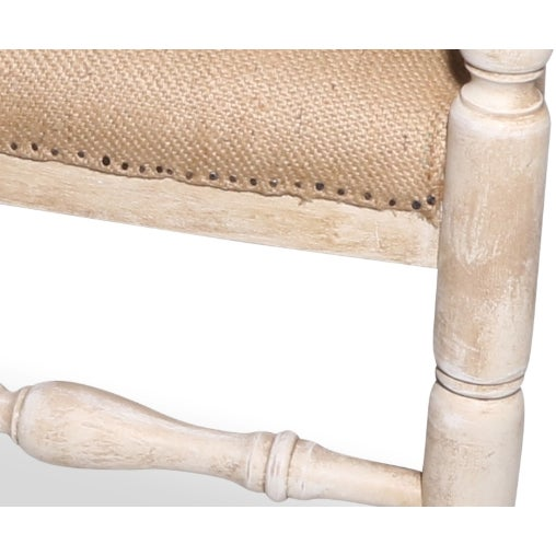 French Country Deconstructed Arm Chair - Image 3 of 3