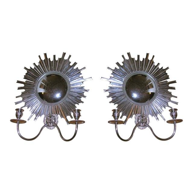 Louis XIV Style Sconces - A Pair For Sale