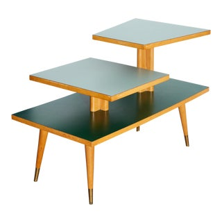 1960s Two Step Side Table For Sale