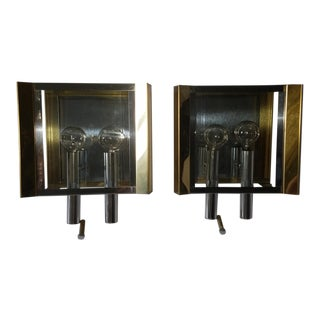 Fredrick Ramond Wall Sconces - A Pair For Sale