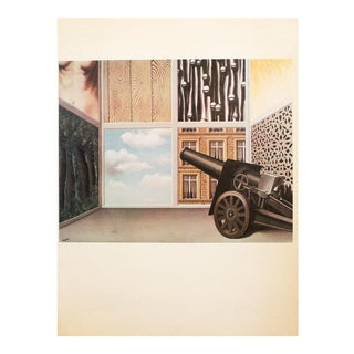 """1972 Rene Magritte, """"On the Threshold of Liberty"""" Original Photogravure For Sale"""