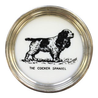 """The Cocker Spaniel"" Ashtray For Sale"