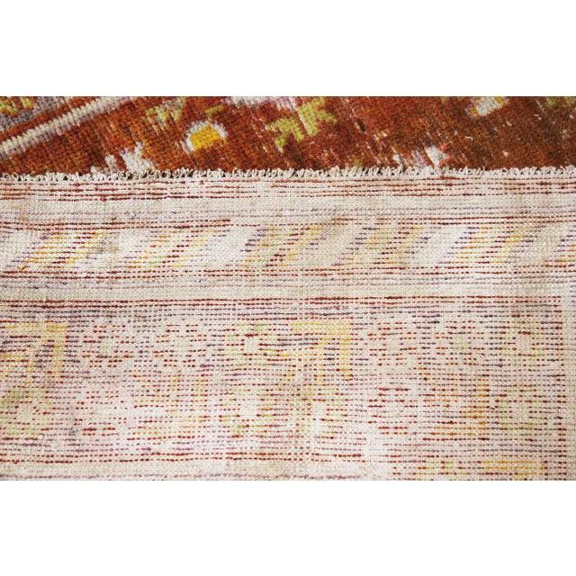 """Vintage Khutan Rug-4'5'x8'10"""" For Sale - Image 4 of 6"""