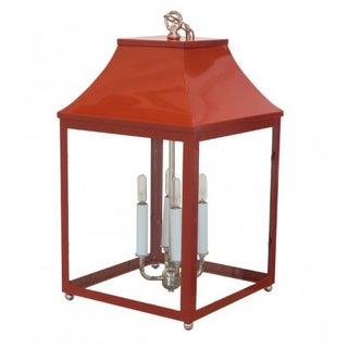 Oomph Palo Alto Red Lantern For Sale