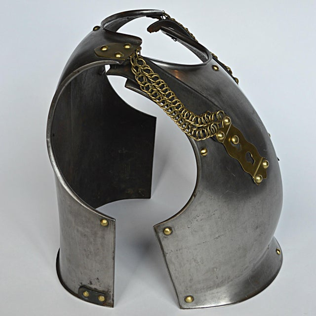 French Cuirassier's Breast and Back Plate For Sale - Image 6 of 11