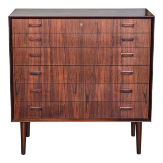 1960s Mid-Century Modern Borge Seindal Rosewood Dresser For Sale