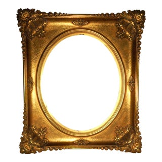 18th - 19th Century Ornate Gold Leaf Frame - Very Large For Sale