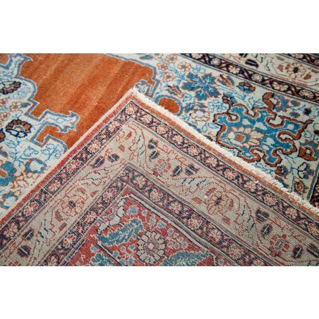 """Fine Antique Haji Jalili Tabriz Rug - 3'11"""" X 5'10"""" For Sale - Image 9 of 13"""