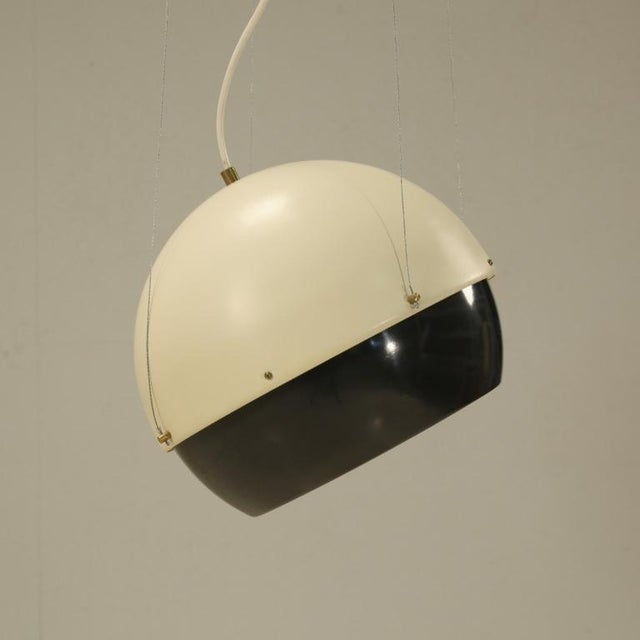 Mid-Century Modern Beautiful Pendant Lamp by Kristian Gullischen for Valaistustyo For Sale - Image 3 of 6