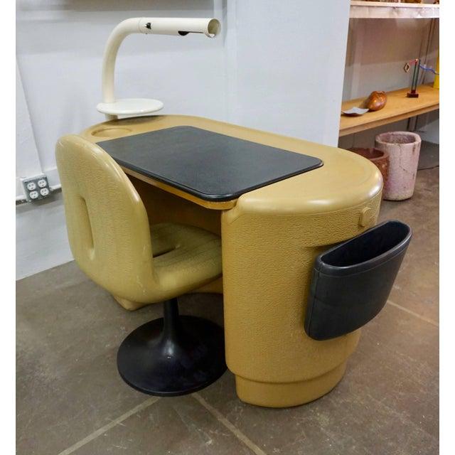 White Polyurethane Desk by Ernst Igl For Sale - Image 8 of 10