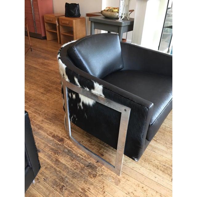 John Stuart Erwin Lambeth for John Stuart Reupholstered Club Chairs - A Pair For Sale - Image 4 of 9