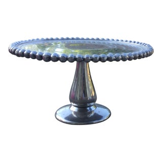 Pewter Cake Stand For Sale