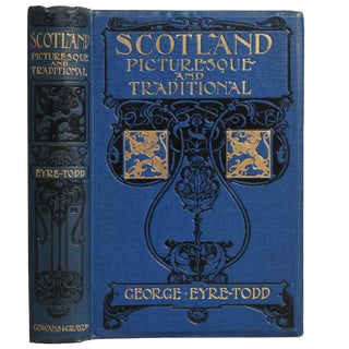 """1921 """"Scotland Picturesque and Traditional"""" Collectible Book For Sale"""