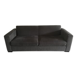 Room and Board Ian Slate Gray Sofa