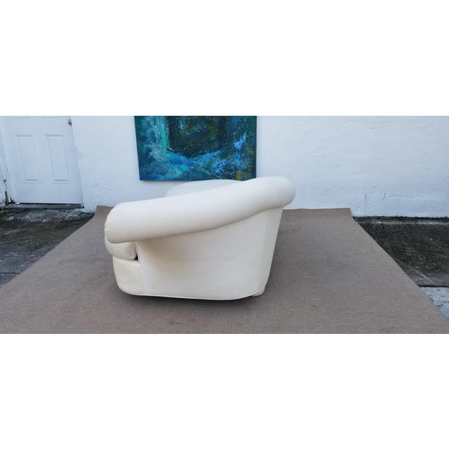 1980s 1980s Vintage Vladimir Kagan for Preview Chaise Lounge For Sale - Image 5 of 10