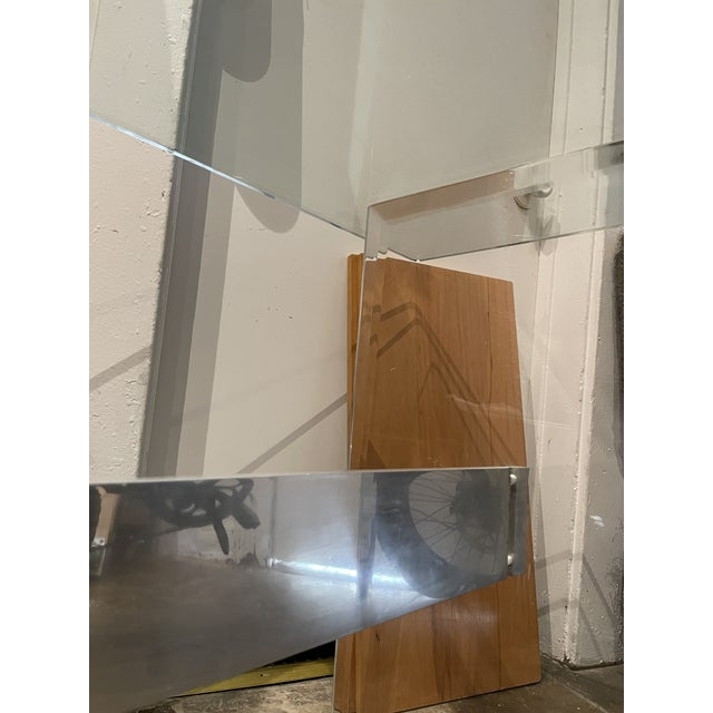 90's Lucite Console For Sale In Los Angeles - Image 6 of 8
