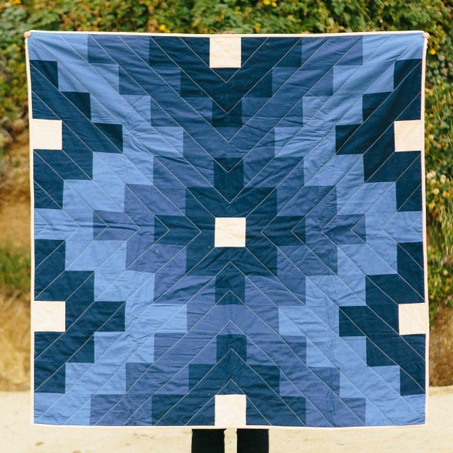 Lone Rock Quilt in Water - Image 2 of 4