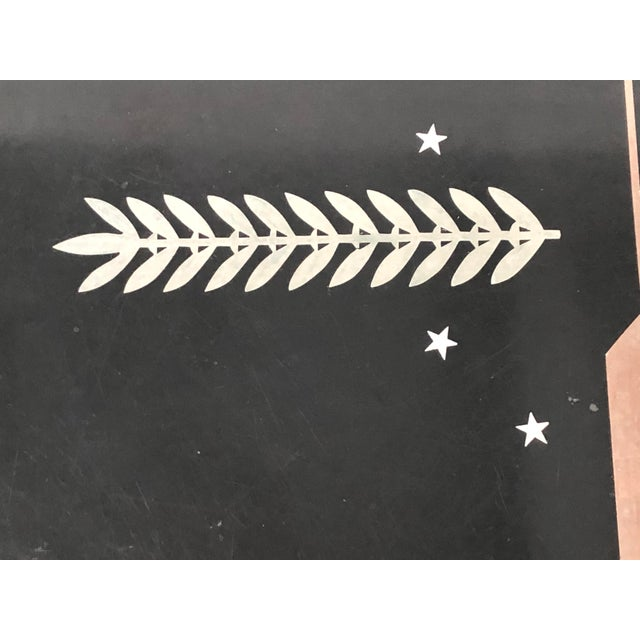 Art Deco George Switzer Inlaid Resin Tray for Micarta, Circa 1930s For Sale In Boston - Image 6 of 11