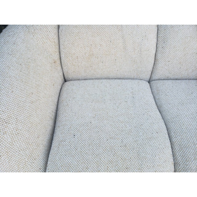 Tan 1980s Vintage Steve Chase Amphibious Loveseat For Sale - Image 8 of 13