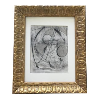 Kimberly Moore Charcoal Abstract Painting