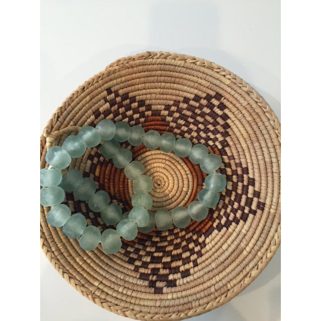 Vintage Native American Style Coil Basket - Image 3 of 8