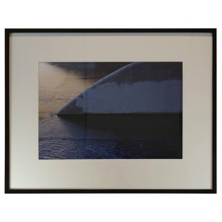 """Minimalist """"Golden State"""" Archival Ink Jet Print by D J For Sale"""