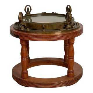 Porthole Coffee Table Circa 19th Century For Sale