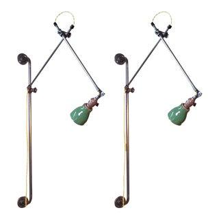 Industrial Bedside Lamps For Sale