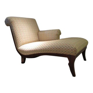 Baker Furniture Milling Road Scroll Chaise
