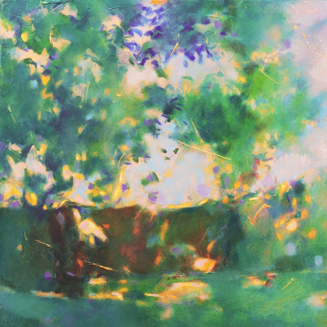 'Sunlight Through the Leaves' For Sale - Image 4 of 8
