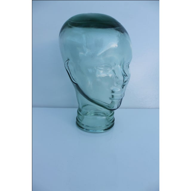 Molded Light Green Glass Head - Image 2 of 9