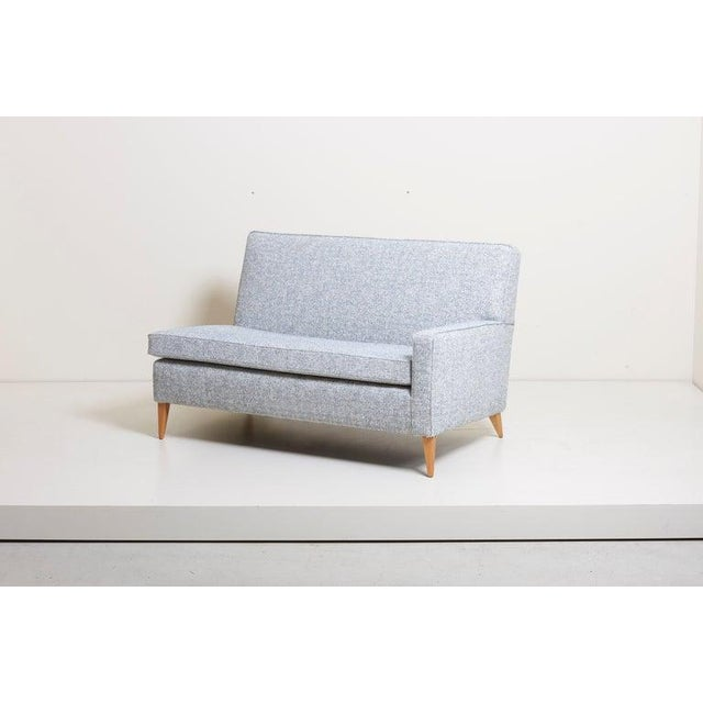 Fabric Paul McCobb Sectional Corner Sofa Custom Craft/ Planner Group Newly Upholstered For Sale - Image 7 of 13