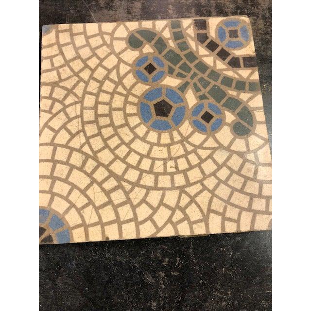 Antique Belgian Ceramic Tiles - Set of 4 - Image 11 of 11