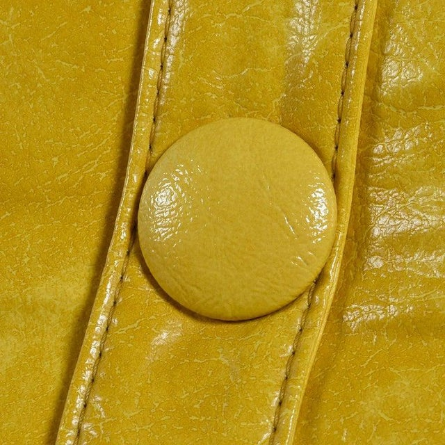 Leather Futorian Decorian Molded Plastic Lemon Candy Shell Italian Modern Lounge Chairs For Sale - Image 7 of 13