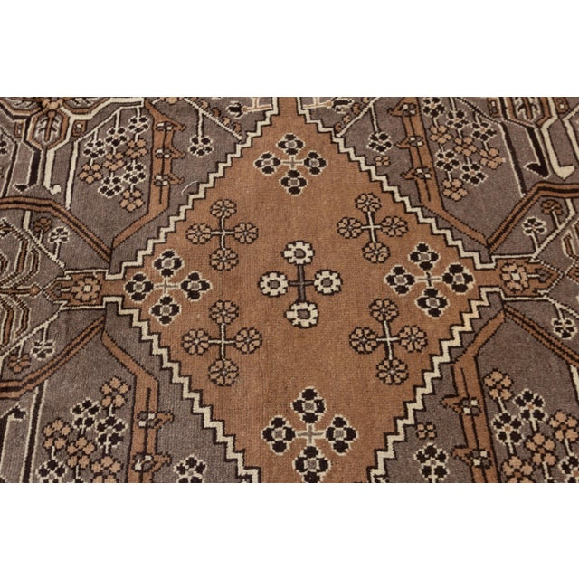 """1920s Antique Mahal Rug, 8'10"""" X 11'3"""" For Sale - Image 5 of 7"""