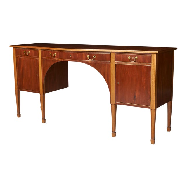 A Frits Henningsen Sideboard in the Sheraton style For Sale