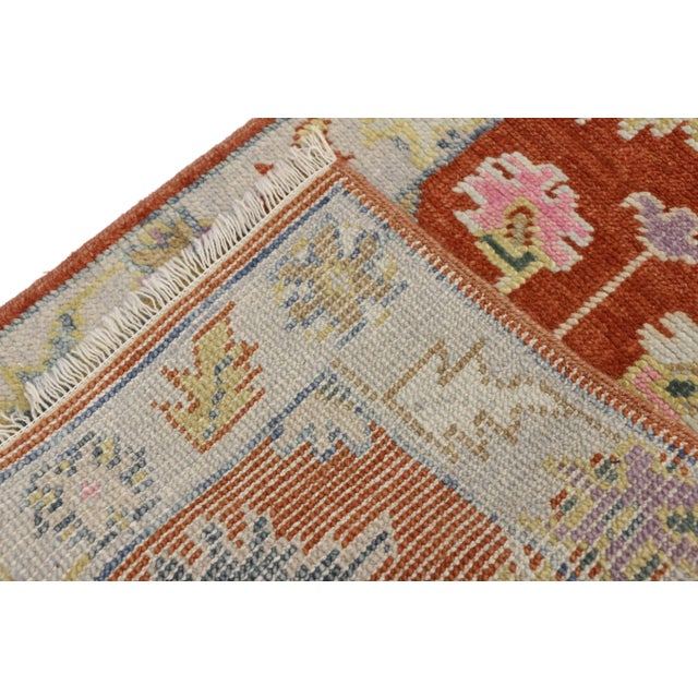 Early 21st Century Early 21st Century Oushak Accent Rug- 2' X 3'10 For Sale - Image 5 of 8