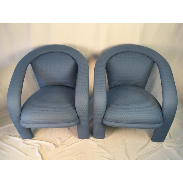 Mid-Century Modern Vintage Carson Chairs- a Pair For Sale - Image 3 of 10