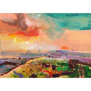 John Maxon Monterey Sunset Circa 1985 For Sale