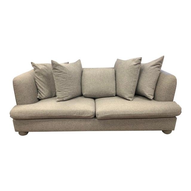 John Hutton for Donghia Gray Sofa For Sale