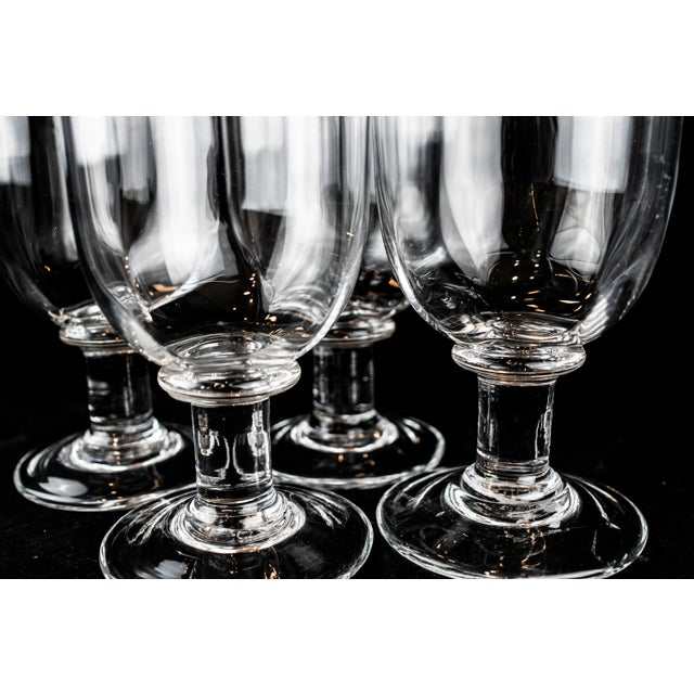 White Simon Pearce Goblets - Set of 4 For Sale - Image 8 of 13