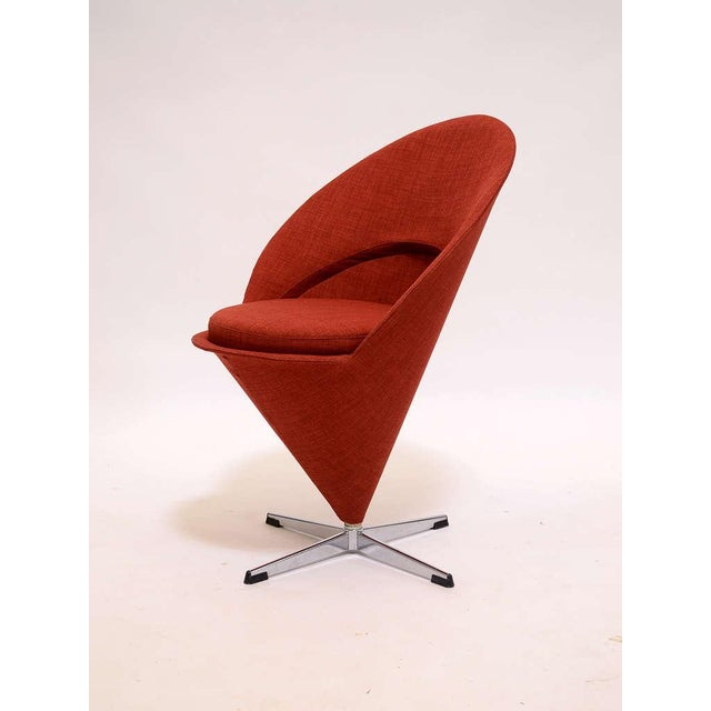 1950s Cone chair by Verner Panton For Sale - Image 5 of 9