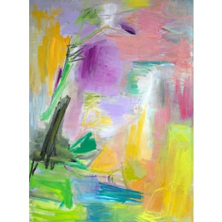"""Morning Glory"" by Trixie Pitts Large Abstract Painting For Sale"