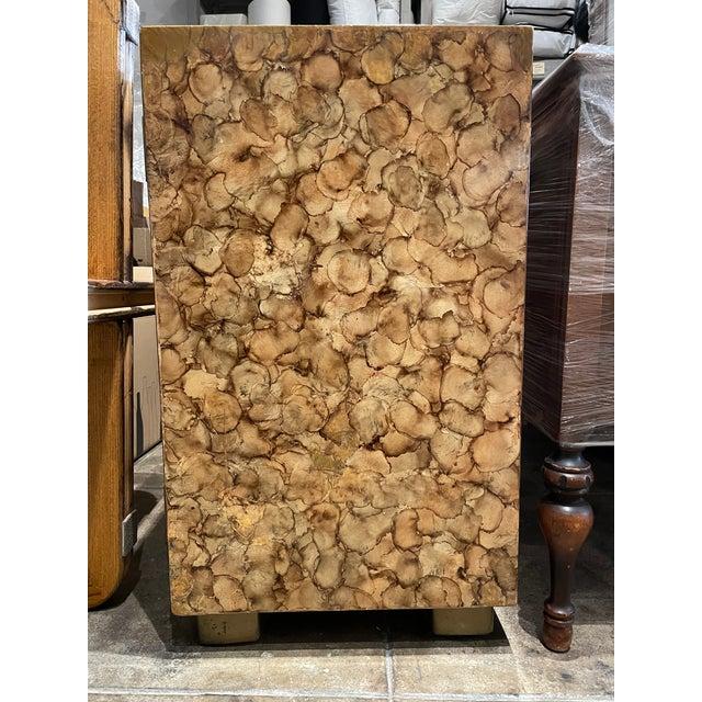 Mid-Century Modern Henredon Faux Tortoise Sideboard For Sale - Image 10 of 11